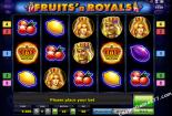 slot machine oyna Fruits and Royals Novomatic