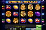 slot machine oyna Fruits and Royals Gaminator