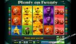 slot machine oyna Plenty on twenty Greentube
