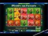 slot machine oyna Plenty on Twenty Novomatic
